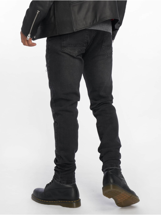 Bangastic Straight Fit Jeans Ron black