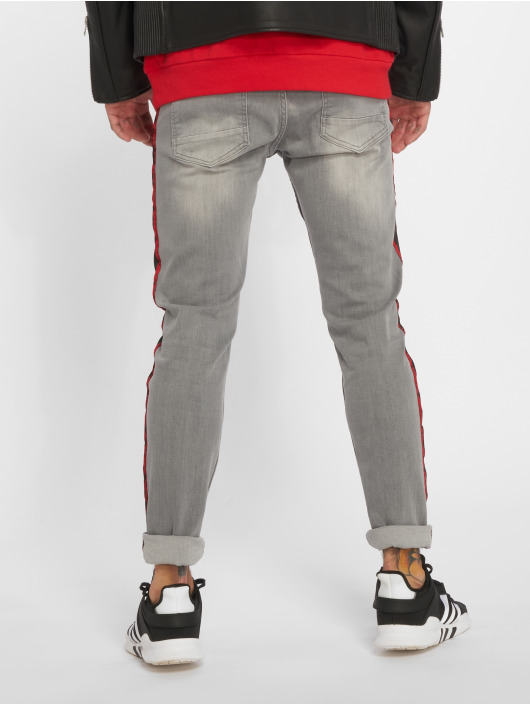 Bangastic Straight Fit Jeans Conner grå