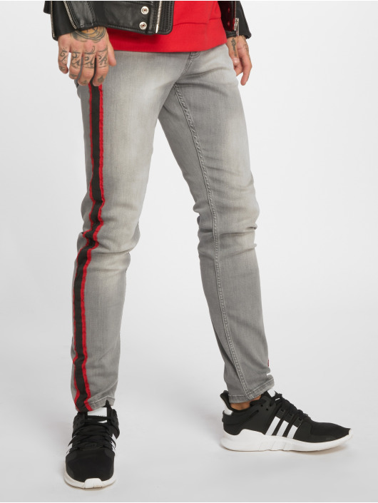 Bangastic Straight Fit Jeans Conner grau
