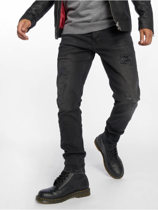 Bangastic Straight Fit Jeans Ron schwarz