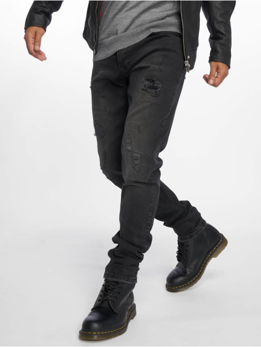 Bangastic Straight Fit Jeans Ron svart