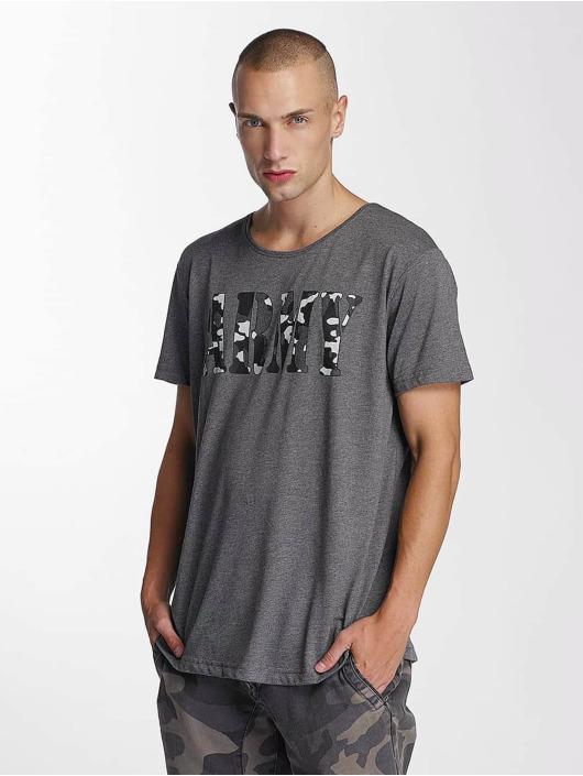 Bangastic T-Shirt Team Army grau