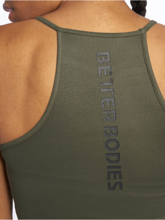 Better Bodies Shirts desportes Performance oliva