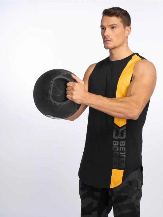 Better Bodies Tank Tops Stanton schwarz