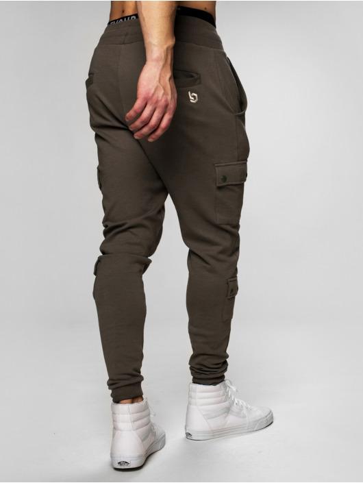 Beyond Limits Jogging kalhoty Cargo hnědožlutý