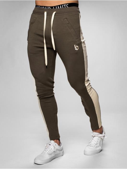 Beyond Limits Jogging kalhoty Foundation hnědožlutý