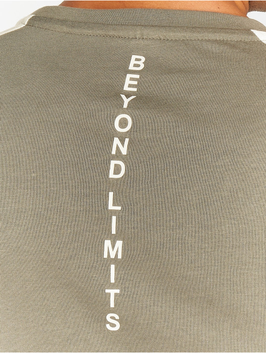 Beyond Limits Sportshirts Foundation hnědožlutý