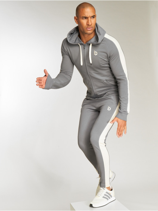 Beyond Limits Sweat capuche zippé Foundation gris