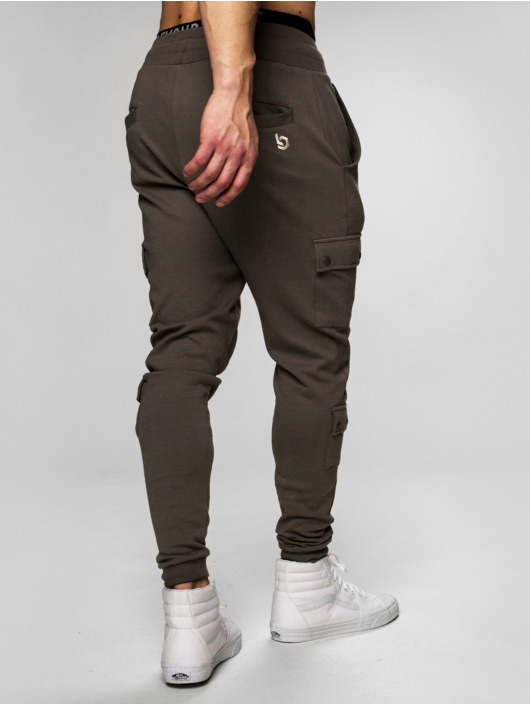 Beyond Limits Sweat Pant Cargo khaki