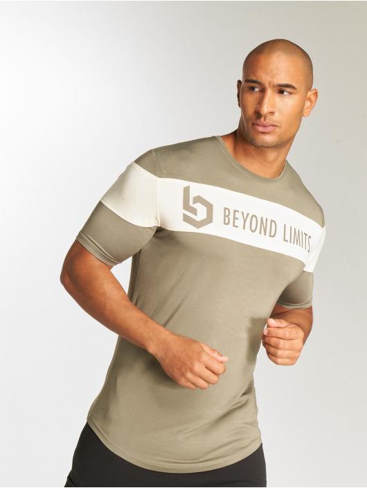 Beyond Limits T-Shirty Chronicle khaki
