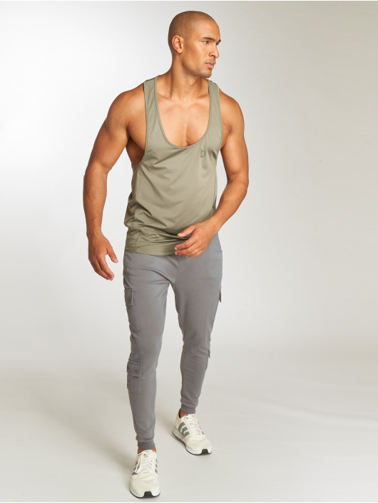 Beyond Limits Tank Tops Basic hnědožlutý