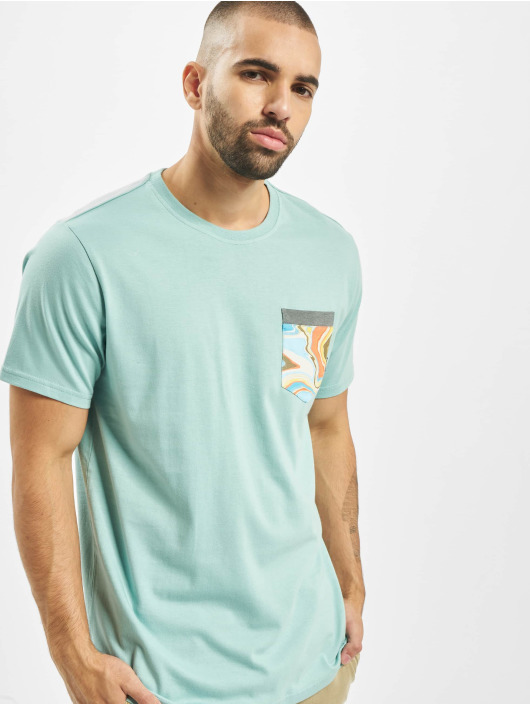 Billabong Camiseta All Day Print Pocket azul