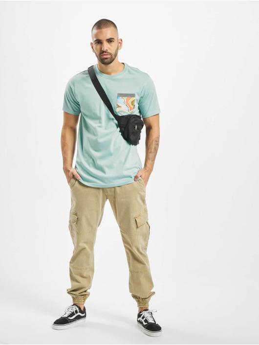 Billabong T-Shirt All Day Print Pocket blue