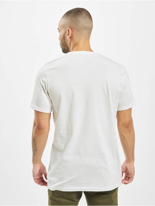 Billabong Tričká All Day Print Pocket biela