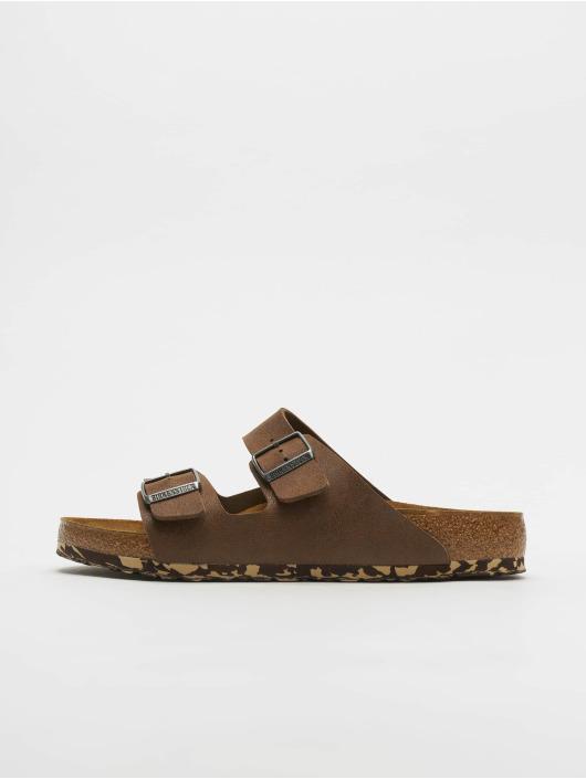 Birkenstock Badesko/sandaler Arizona MF brun
