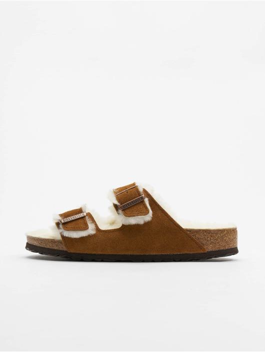 Birkenstock Badesko/sandaler Arizona VL brun