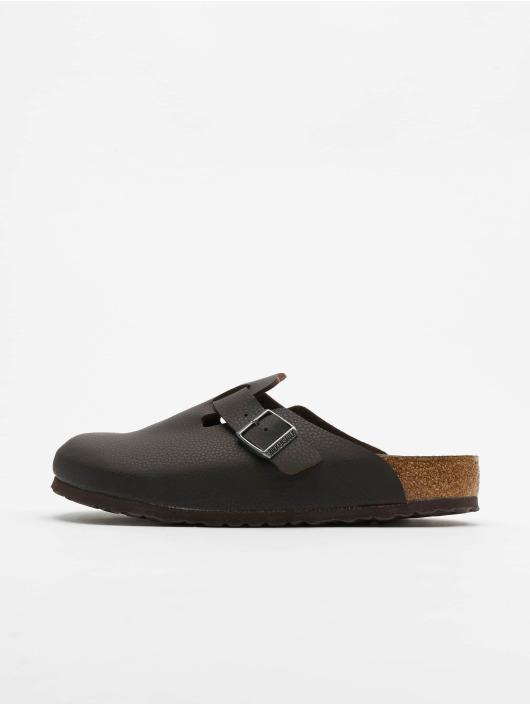 Birkenstock Badesko/sandaler Boston SFB BF brun