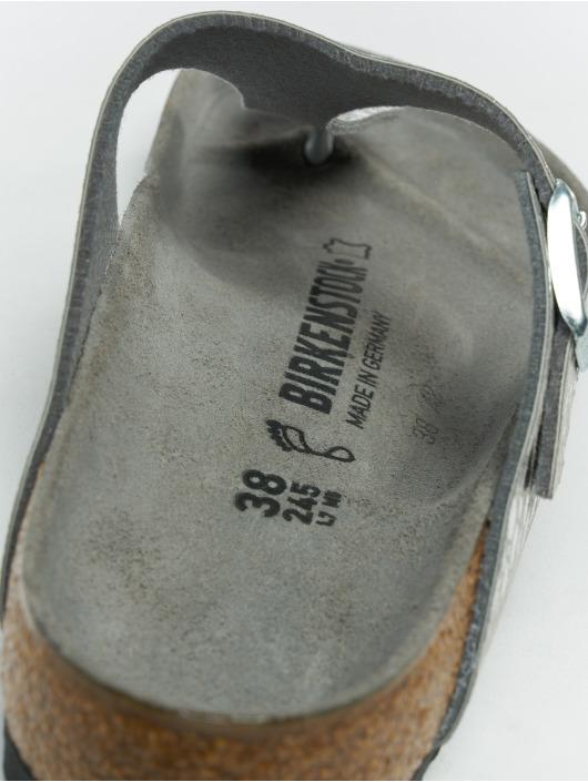 Birkenstock Badesko/sandaler Gizeh BF grå