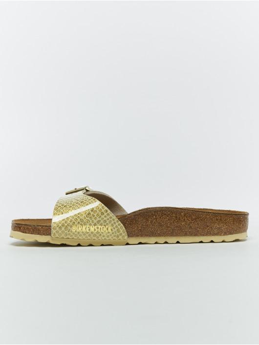 Birkenstock Badesko/sandaler Madrid BF gull