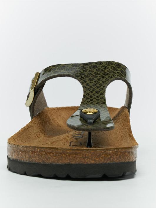 Birkenstock Badesko/sandaler Gizeh BF khaki