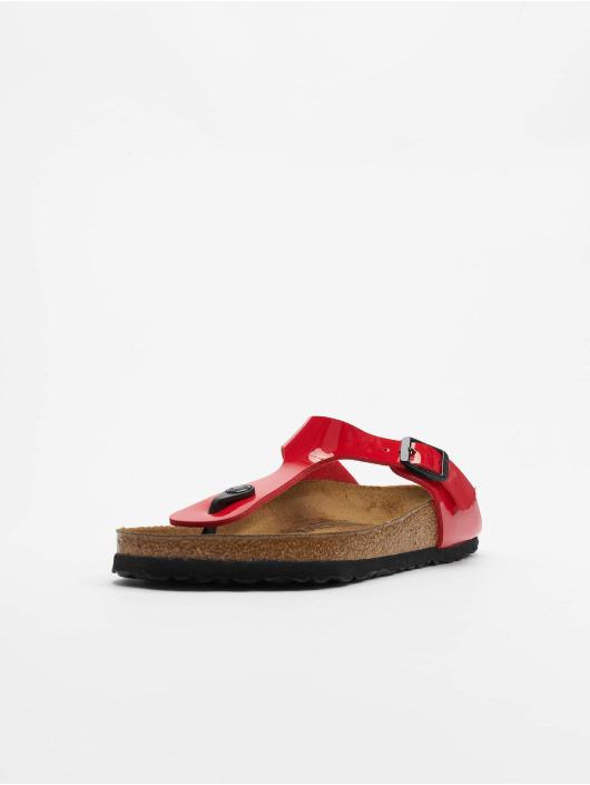 Birkenstock Badesko/sandaler Gizeh BF red