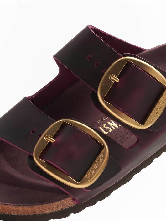 Birkenstock Badesko/sandaler Arizona Big Buckle FL red