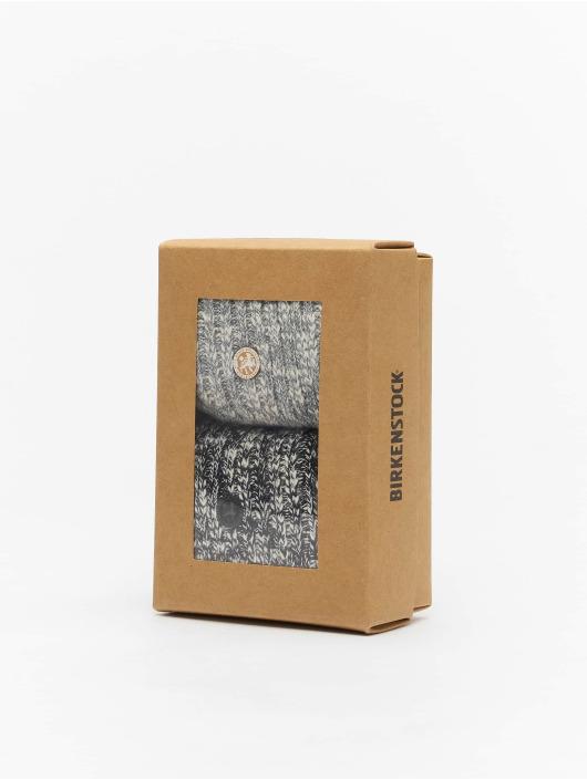 Birkenstock Chaussettes X-Mas Slub M noir