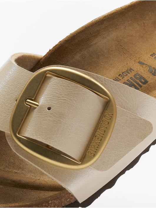 Birkenstock Claquettes & Sandales Madrid Big Buckle BF beige