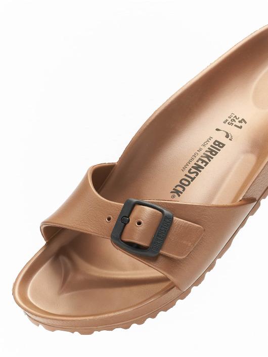 Birkenstock Claquettes & Sandales Madrid EVA Metallic brun