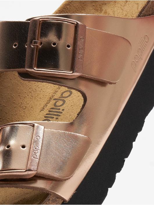 Birkenstock Claquettes & Sandales Arizona Platform NL brun