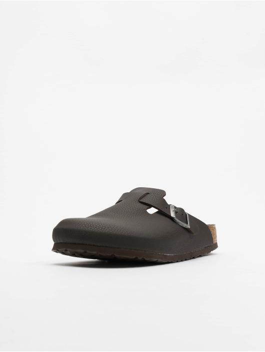 Birkenstock Claquettes & Sandales Boston SFB BF brun