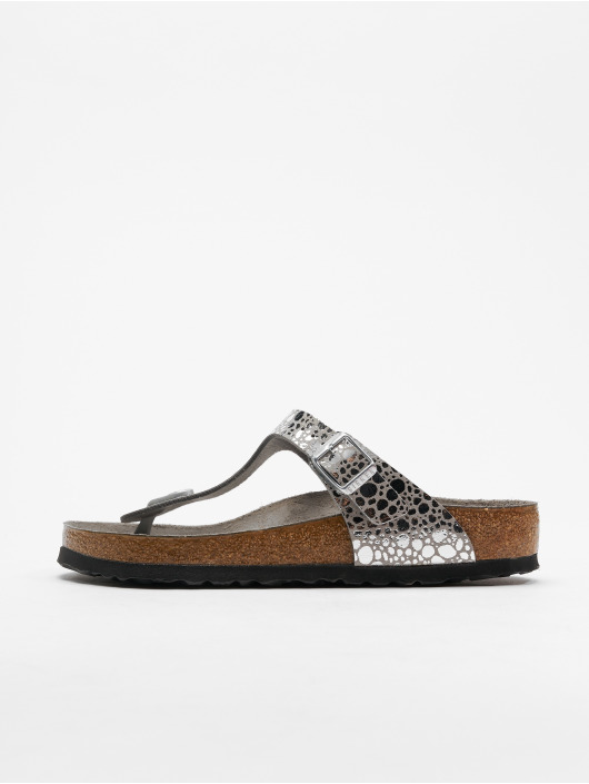 Birkenstock Claquettes & Sandales Gizeh BF gris