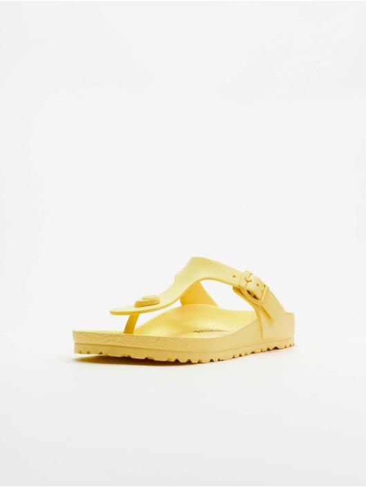 Birkenstock Claquettes & Sandales Gizeh EVA jaune