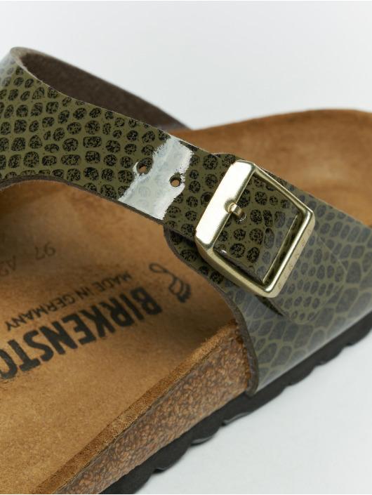 Birkenstock Claquettes & Sandales Gizeh BF kaki