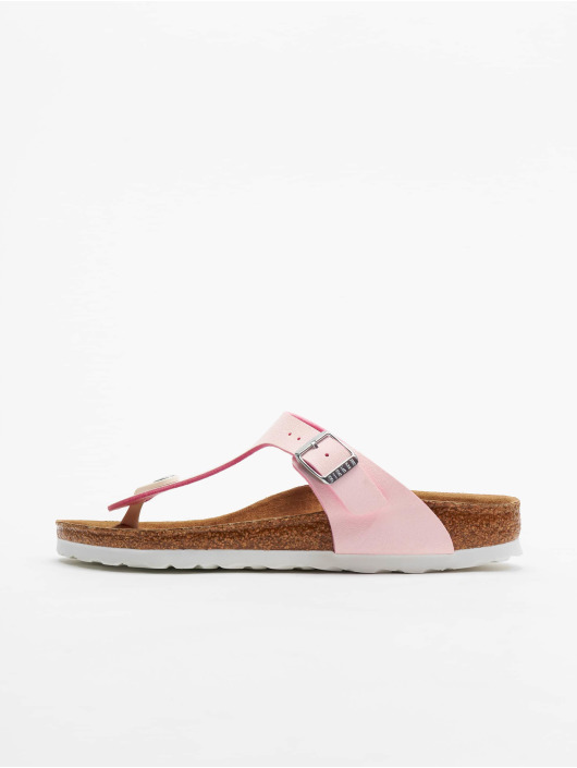 Birkenstock Claquettes & Sandales Gizeh BF rose