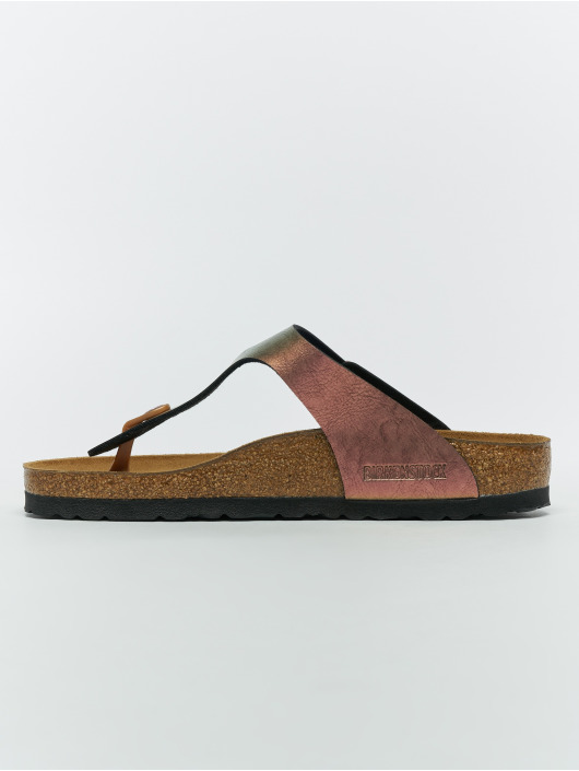 Birkenstock Claquettes & Sandales Gizeh BF rouge