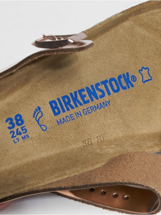 Birkenstock Claquettes & Sandales Gizeh NL SFB rouge