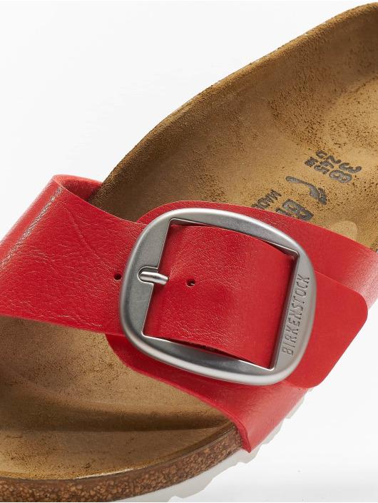 Birkenstock Claquettes & Sandales Madrid Big Buckle BF rouge