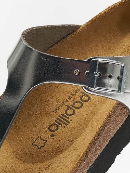 0c43326eeb6 Birkenstock Sko / Sandal Gizeh Platform NL i sølv 617138