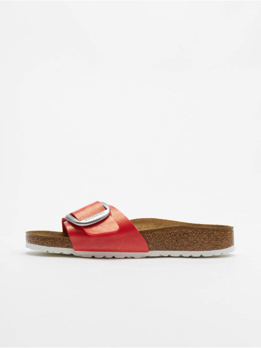 Birkenstock Sandalen Madrid Big Buckle BF rot
