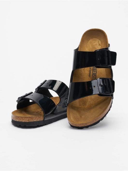 Birkenstock Sandalen Arizona BF Lack schwarz