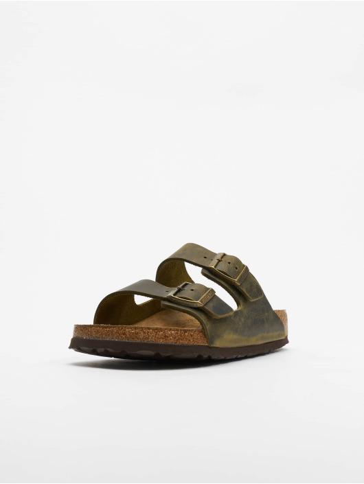 närmare kl nya stilar 100% hög kvalitet Birkenstock Skor / Sandaler Arizona SFB FL i grön 688392