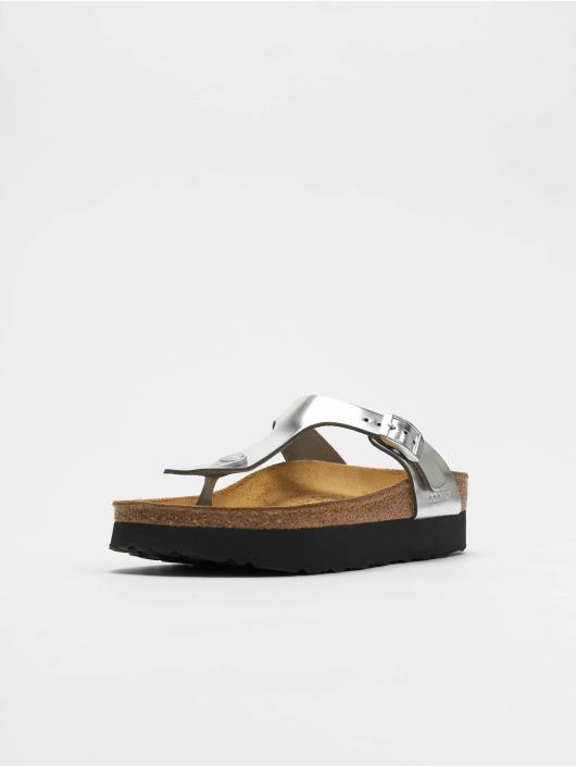 1def7681a8da Birkenstock Skor   Sandaler Gizeh Platform NL i silver 617138