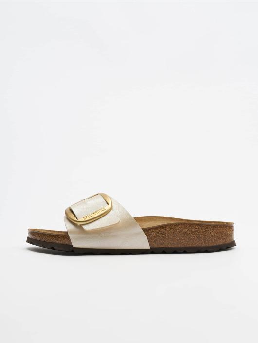 c94335c98 Birkenstock schoen / Slipper/Sandaal Madrid Big Buckle BF in beige ...