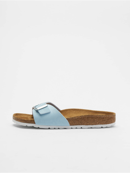 Birkenstock Slipper/Sandaal Madrid BF blauw