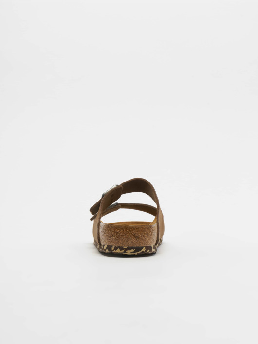 Birkenstock Slipper/Sandaal Arizona MF bruin