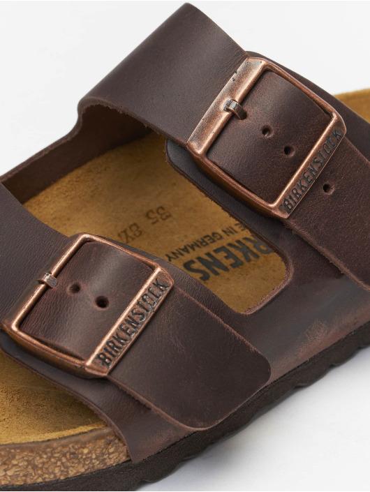 Birkenstock Slipper/Sandaal Arizona FL bruin