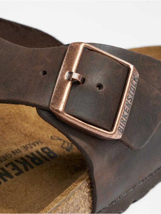 Birkenstock Slipper/Sandaal Ramses FL bruin