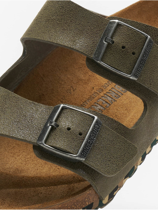 Birkenstock Slipper/Sandaal Arizona MF groen
