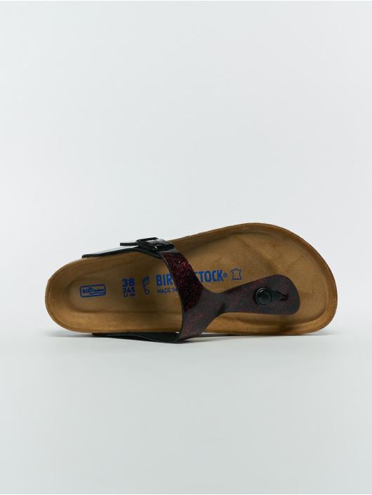 Birkenstock Slipper/Sandaal Gizeh SFB BF rood